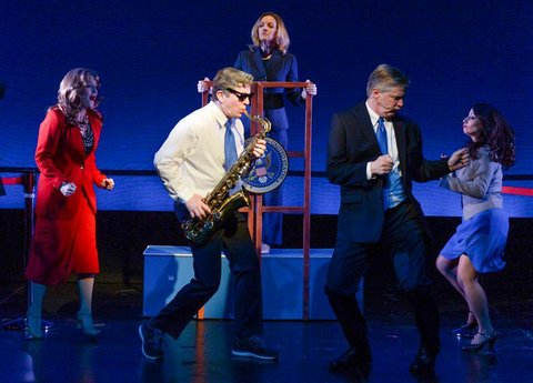 NY Times: Clinton the Musical Is Definitely Running Off Broadway