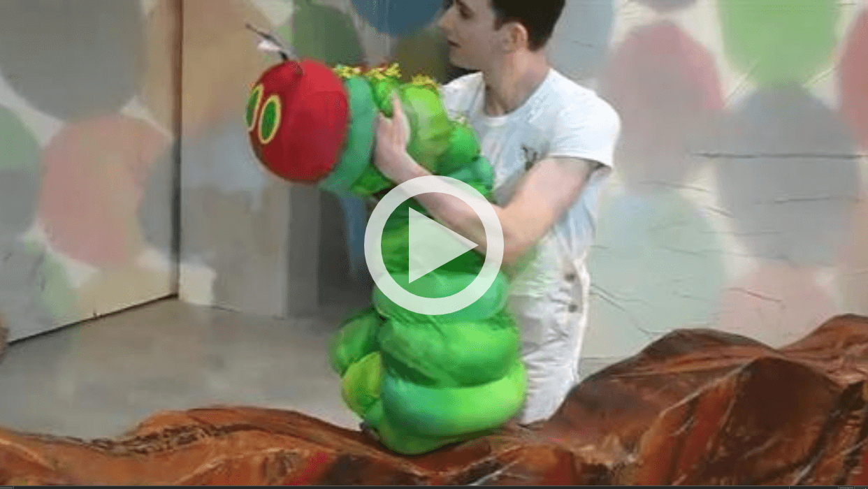 NY1 Parenting: Behind the Scenes of 'The Very Hungry Caterpillar Show'